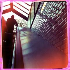Mairie d'Issy (berardici) Tags: paris stairs subway escalator tiles ubahn 100 050 carrelage issylesmoulineaux mairiedissy iphone4 metro hipstamatic chunkylens bigupfilm filmbigup chunkybigup bigupcadrerose objectifchunky cadrerose