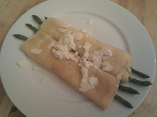 Asparagus Crepes