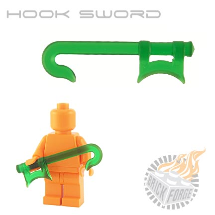 Hook Sword (of Poison) - Trans Green