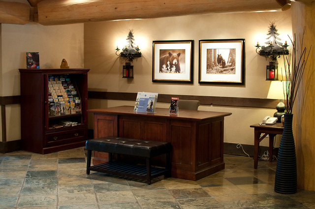 Coast Blackcomb Suites lobby