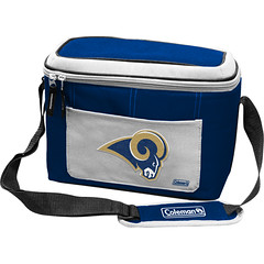 St Louis Rams Coleman 12 Pack/Can Cooler Bag