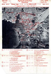 Sutton Pool (Plymouth History) Tags: cornwall map aircraft nazi plymouth aerial devon photograph german target bomb blitz bombing reich devonport secondworldwar stonehouse luftwaffe plymstock saltash torpoint