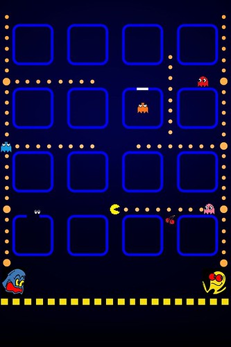 IPhone PacMan by Rogsil