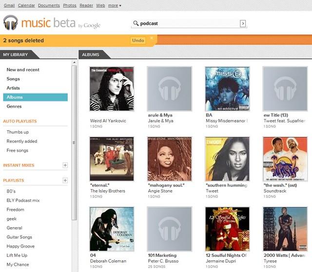 music beta by google