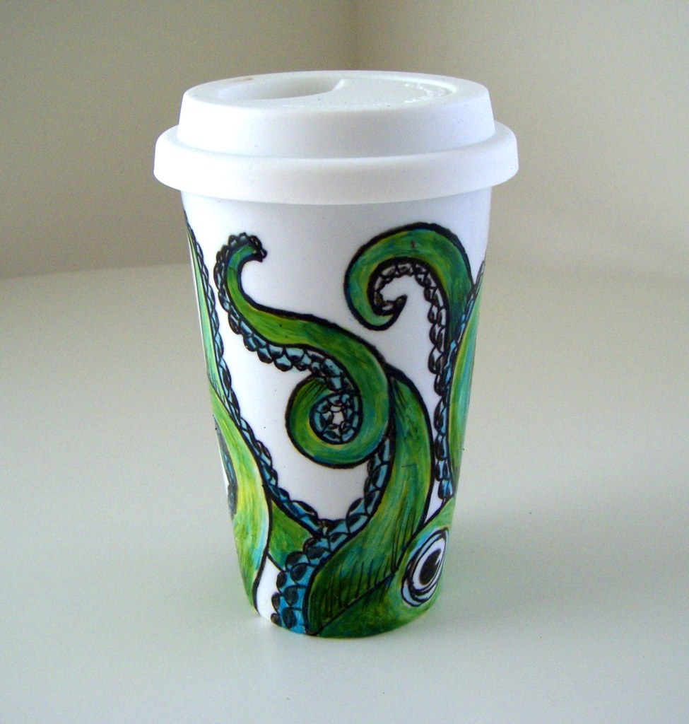Porcelain Travel Coffee Cup Coffee Cup Bean To Cup