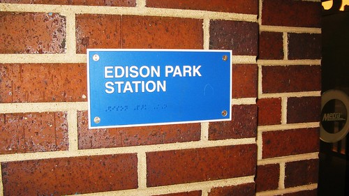"The ""New"" 2007 built Edison Park Metra commuter rail station. Chicago Illinois USA. July 2011. by Eddie from Chicago"