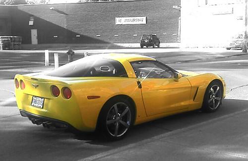 L'auto du jour : Chevrolet Corvette
