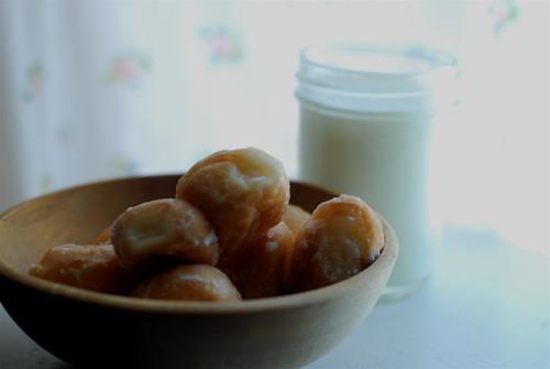 donut holes from shipley.  YUMMY!
