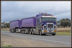 Pascoes Road Train (quarterdeck888) Tags: trucks roadtrain pascoe kenworth jerilderie k108 bigcab stretchcab k108bigcab worldtruck kenworthk108bigcabtipper