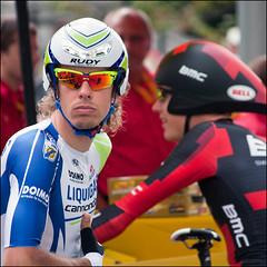 tour de france 2011 (heavenuphere) Tags: portrait france race grenoble cycling tour tourdefrance 2011 individualtimetrial contrelamontre tijdrit grenoblegrenoble 55250mm danieloss 20thstage 425km