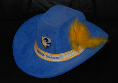 Dick Post Ltd. Chargers Cowboy Hat