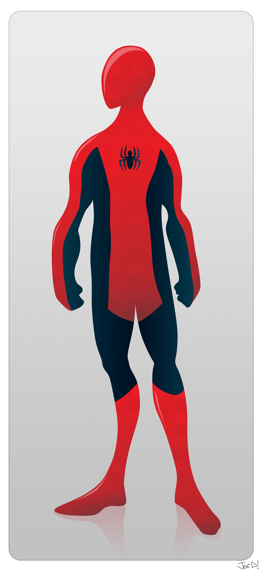 Dieter Rams' Spider-Man by Joe D!