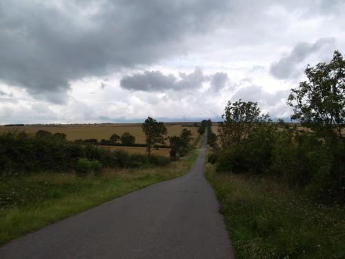 Towards East Heslerton Wold