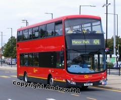 Go Ahead London . Docklands Buses . VM1 BJ11XGZ . Beckton Bus Station . Saturday 07th-August-2011 . (AndrewHA's) Tags: bus volvo beckton prototype tfl mcv testbus vm1 b9tl goaheadgroup docklandsbuses route474 bj11xgz seedbus