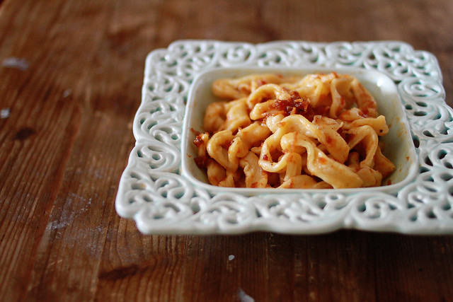 Pasta with XO Sauce