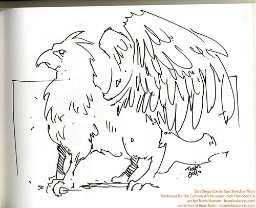 SDCC2011 art commission - Griffin
