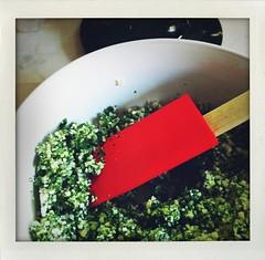 frittata di ortiche: menta e grana