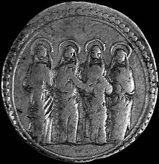 segno del Luogo pio delle Quattro Marie