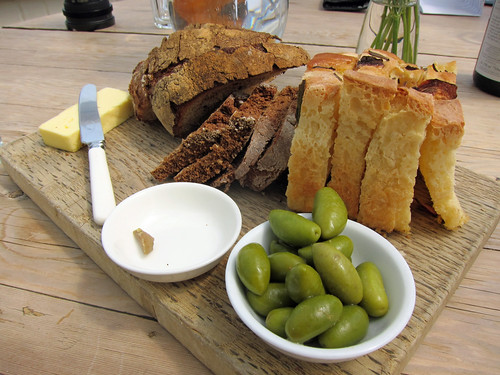 Bread, Butter and Olives
