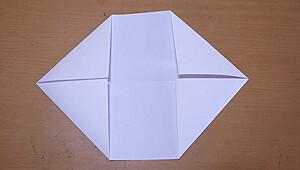 紙鉄砲を作る4