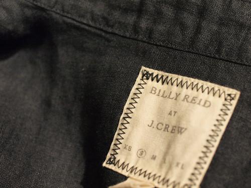 BILLY REID at J.CREW /  Beaudreaux Sport Shirt