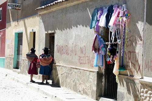 Tarabuco street scene