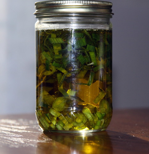 Infusing Oil