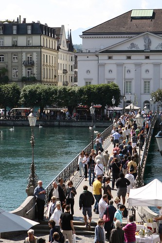 Bridge to Other Side of Lucerne Market
