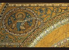 Petrus Apostolus (Lawrence OP) Tags: pope london westminster keys cathedral mosaic stpeter apostle