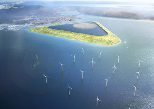An Island to Light Up Copenhagen