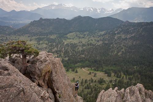 Classic view from Lumpy Ridge