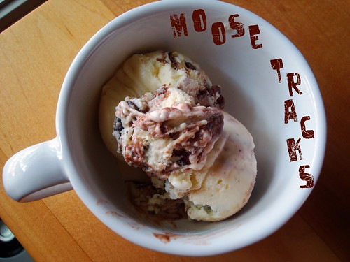 Moose Tracks Ice Cream