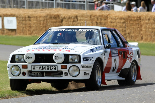 Toyota Celica Twin Cam Group B Rally Car