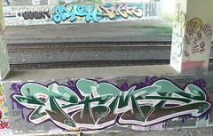 Much, River, Time (graffluvr) Tags: art minnesota river graffiti paint time graf cities minneapolis twin spray mpls tc much twincities graff uc aerosol hm mn cse aerosolart tci graffitiart 612