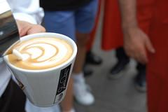 Latte Art in Milan with the Italian Latte Art Champion (Dalla Corte) Tags: milan art andrea corte latte sforzesco caff dalla antonelli