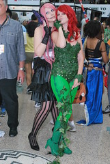 Poison Ivy (GetChu) Tags: red game anime cute green girl beautiful pose hair costume los kiss comic dress expo angeles cosplay character manga ivy center babe suit armor convention poison ax 2011