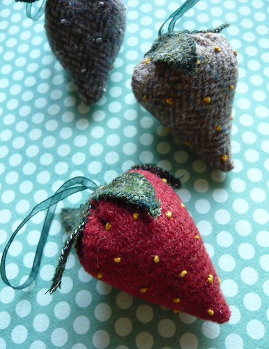 Tweed strawberries