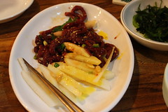 (yukhoe) (Little Raven) Tags: food restaurant asia raw beef korea korean seoul southkorea jongno gyeongbokgung    yukhoe