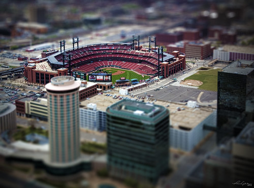 Saint Louis In Miniature - Busch Stadium