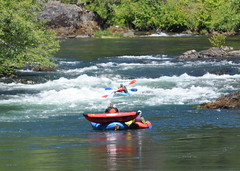 North Umpqua - July 2011 (cirrus in OR) Tags: camping camp kayak rafting kayaking raft northumpqua horseshoebend umpquariver