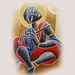 LORD KRISHNA PAINTING BY Dhananjay 4