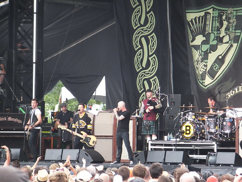 Dropkick Murphys at Ottawa Bluesfest 2011