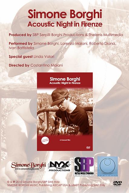Simone Borghi: Acoustic Night In Firenze. clicca per saperne di più...