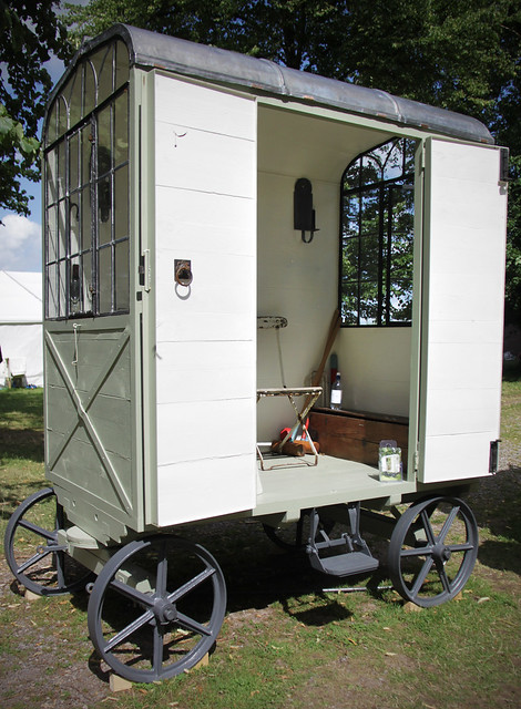 Garden caravan