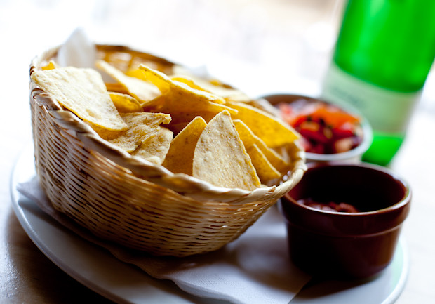 Chips and Salsa at Zapatas Tunbridge Wells