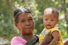 Garo Mother and Baby - Srimongal, Bangladesh (uncorneredmarket) Tags: family people baby mother bangladesh villagevisit indigenous dpn srimongal garo garovillage garovillagevisit