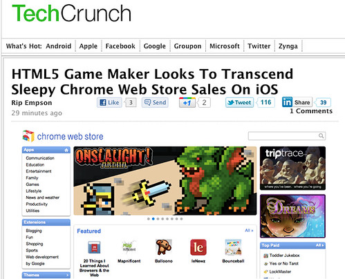 Onslaught! for iPad on TechCrunch