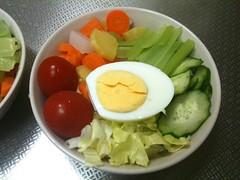 朝食サラダ(2011/7/12)