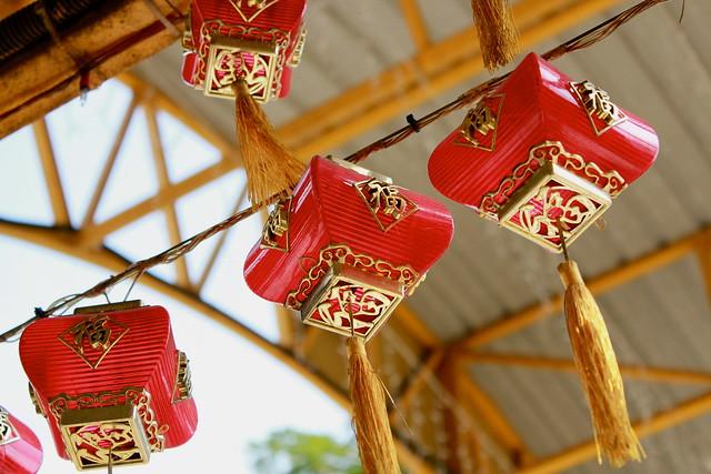 lantern high up