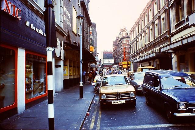 1976 - London - Soho - Rupert Street